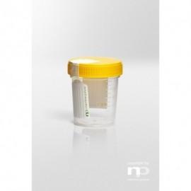 Pojemnik uniwersalny PP, 125 ml, fi 55x72 mm,