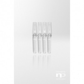 Probówka PCR PP, 0,1 ml,dołączona  zatyczka, 4 w pasku,