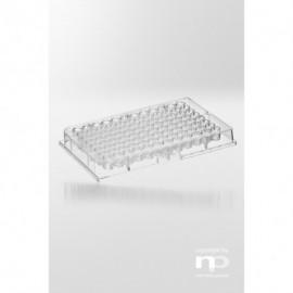 Płytka mikrotestowa PS, 96 dołków, 0,3 ml, w kształcie litery U,