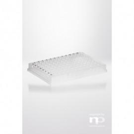 PCR-płytka PP, 96x0,2ml, pełna ramka, niski profil,