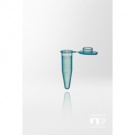 Probówka PP, 1,5 ml, dołączona zatyczka, niebieska,