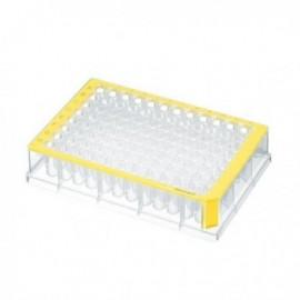 Płytki deepwell 96/500 µL PCR Clean, żółte 5 op. x 8 szt.