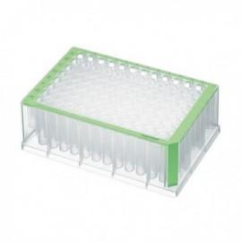 Płytki deepwell 96/1000 µL PCR Clean, zielone 5 op. x 4 szt.