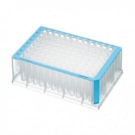 Płytki deepwell 96/1000 µL PCR Clean, niebieskie 5 op. x 4 szt.