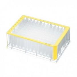 Płytki deepwell 96/2000 µL PCR Clean, żółte 5 op. x 4 szt.