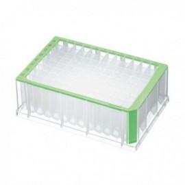 Płytki deepwell 96/2000 µL PCR Clean, zielone 5 op. x 4 szt.