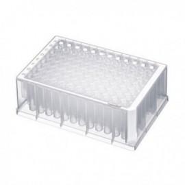 Płytki deepwell 96/1000 µL DNA LoBind, PCR clean białe, 10 op. x 8 szt.