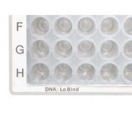 Mikropłytki 96/V-PP DNA LoBind, PCR clean bezbarwne, 5 op. x 16 szt.