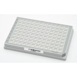 Mikropłytki 96/U-PP sterylne, wielobarwne (dołki bezbarwne) 80 szt. z kodem kreskowym