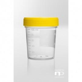 Pojemnik uniwersalny PP, 125 ml, fi 55 x 72 mm,