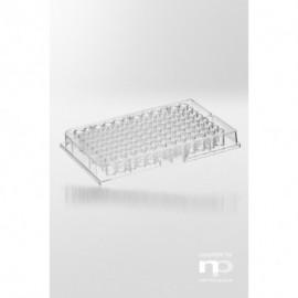 Płytka mikrotestowa PS, 96 dołków, 0,3 ml, kształt litery F,