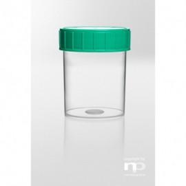 Pojemnik zakręcany PP, 100 ml, fi  52 x 74 mm,