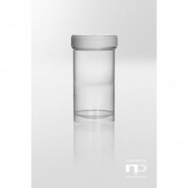 Pojemnik zakręcany PP, 100 ml, fi 48 x 80 mm,