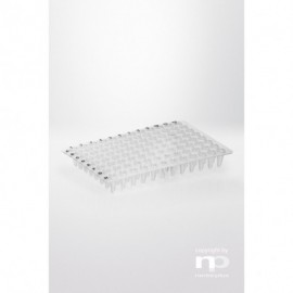 Płytka PCR PP, 96x0,1 ml, bez ramki, nisko profilowa,