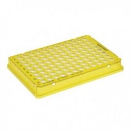 Płytki Płytki twin.tec PCR 96 żółte (dołki bezbarwne) typu skirted, 25 szt.