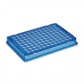 Płytki Płytki twin.tec PCR 96 niebieskie (dołki bezbarwne) typu skirted, 25 szt.