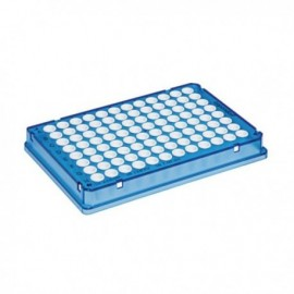 Płytki Płytki twin.tec real-time PCR 96, skirted niebieskie (dołki białe), 25 szt.