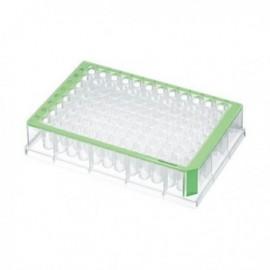 Płytki deepwell 96/500 µL PCR Clean, zielone 5 op. x 8 szt.