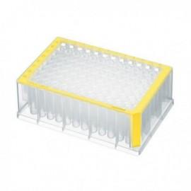 Płytki deepwell 96/1000 µL PCR Clean, żółte 5 op. x 4 szt.