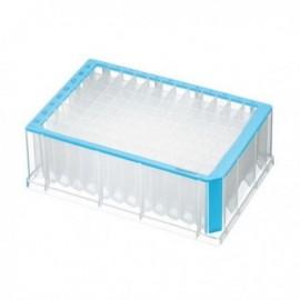 Płytki deepwell 96/2000 µL PCR Clean, niebieskie 5 op. x 4 szt.