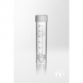 Probówka PP z dopasowaną zakrętką PE, 30 ml, fi 25x107 mm