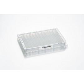 Mikropłytki 96/V-PP PCR Clean, wielobarwne (dołki bezbarwne) 80 szt. z kodem kreskowym