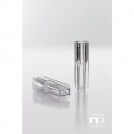 Semi-mikro kuweta PS, 1,5 ml,
